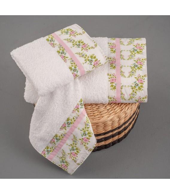 Omega Home Πετσέτες σετ 3 τμχ des.257