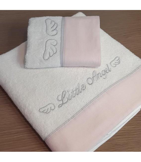 Baby Oliver des.336 Πετσέτες Σετ 2 τμχ  - Λιανική Τιμή: 35€