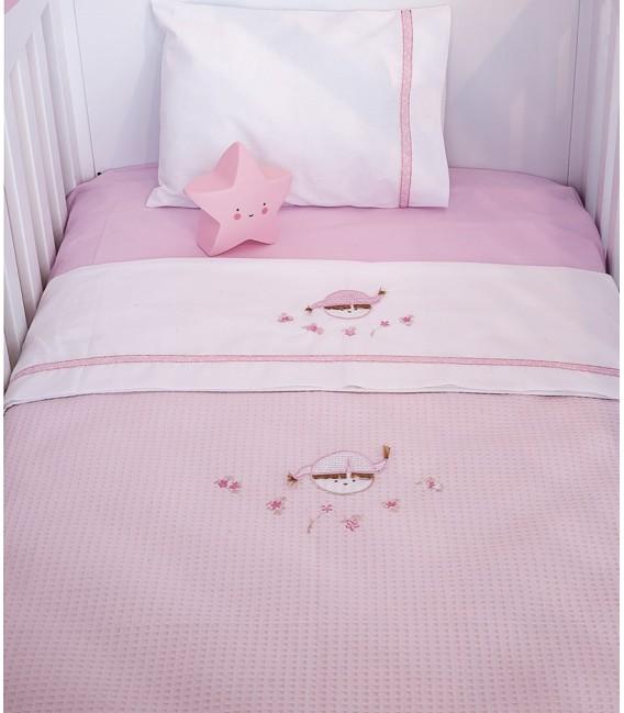 Baby Oliver des.142 Κουβέρτα Πικέ Κούνιας - Λιανική Τιμή: 28€