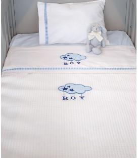 Baby Oliver des.143 Κουβέρτα Πικέ Κούνιας - Λιανική Τιμή: 28€
