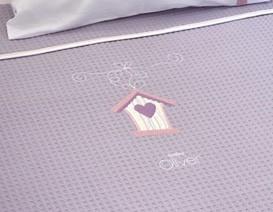 Κουβέρτες βαμβακερές κουνιας Outlet